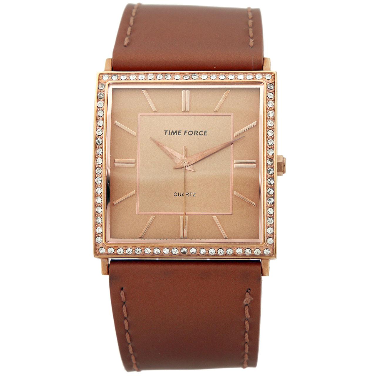 ساعت زنانه برند تایم فورس مدل  TF3175L11