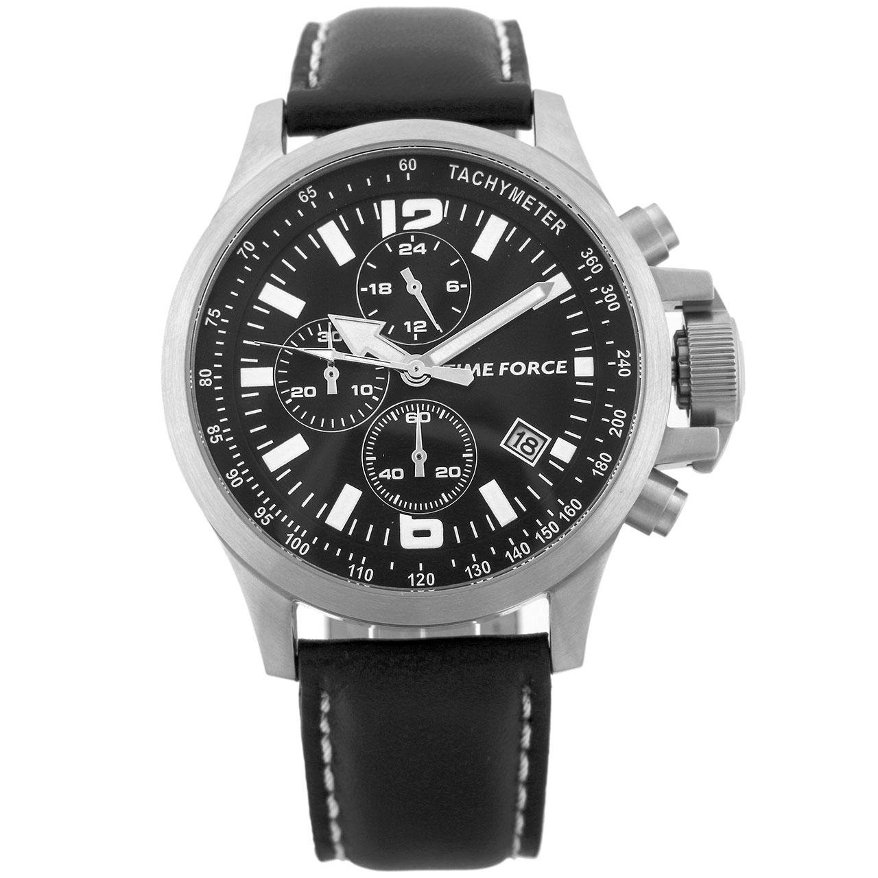 ساعت مچی عقربه ای مردانه تایم فورس مدل TF3263M01