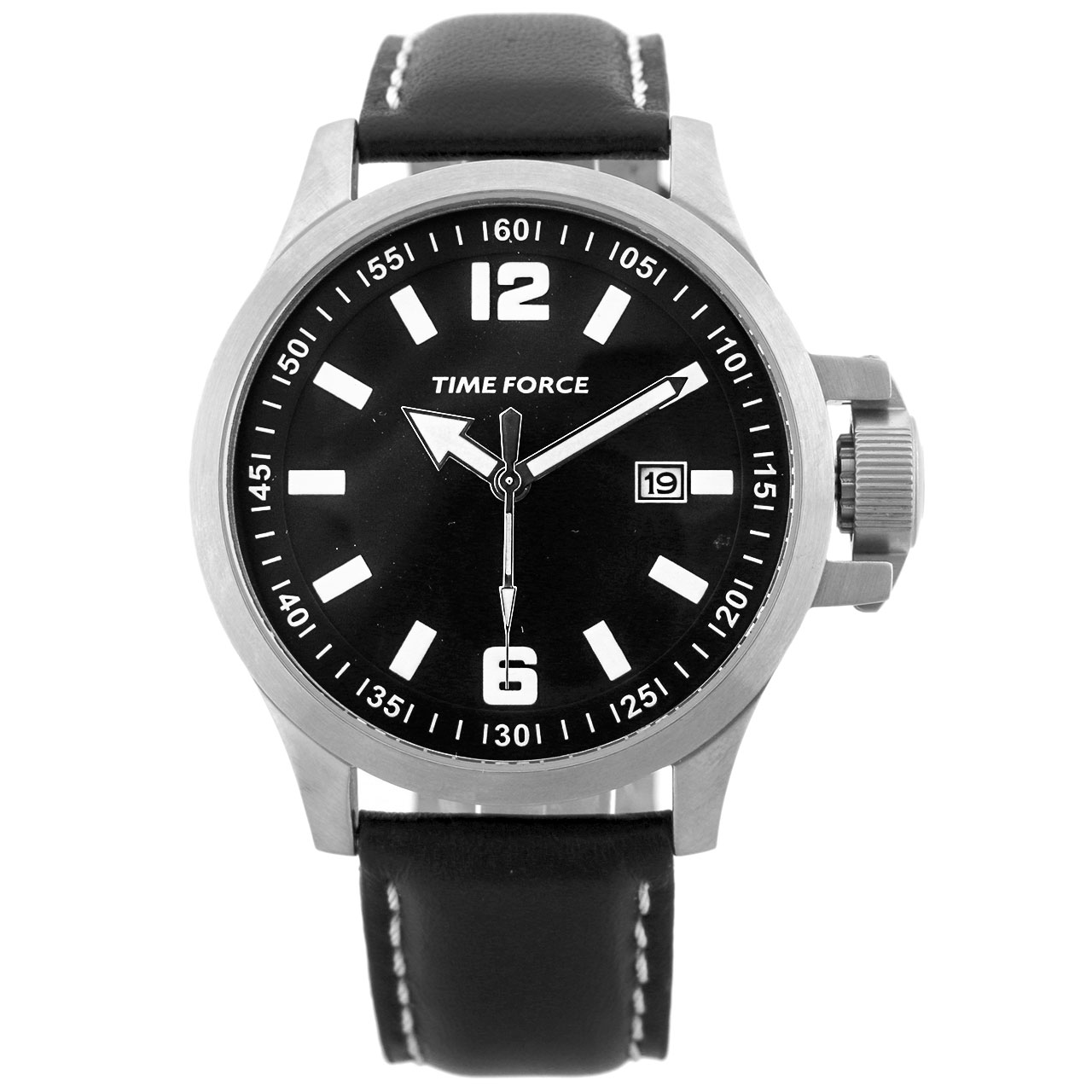 ساعت مچی عقربه ای مردانه تایم فورس مدل TF3264M01
