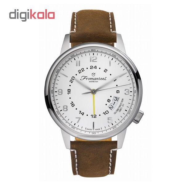 ساعت مچی عقربه ای مردانه فرومنتیل کد GMT W01