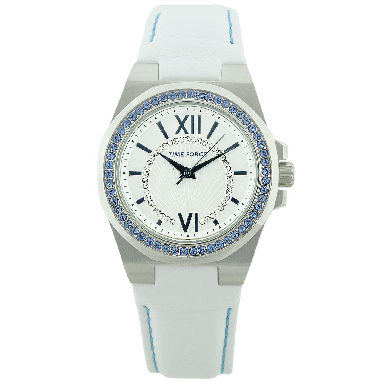 ساعت مچی عقربه ای زنانه تایم فورس مدل TF4161L03
