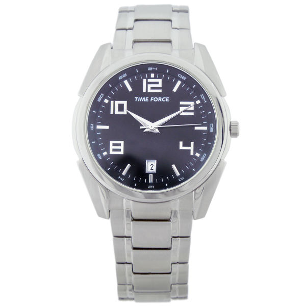 ساعت مچی عقربه ای مردانه تایم فورس مدل TF4168M01M