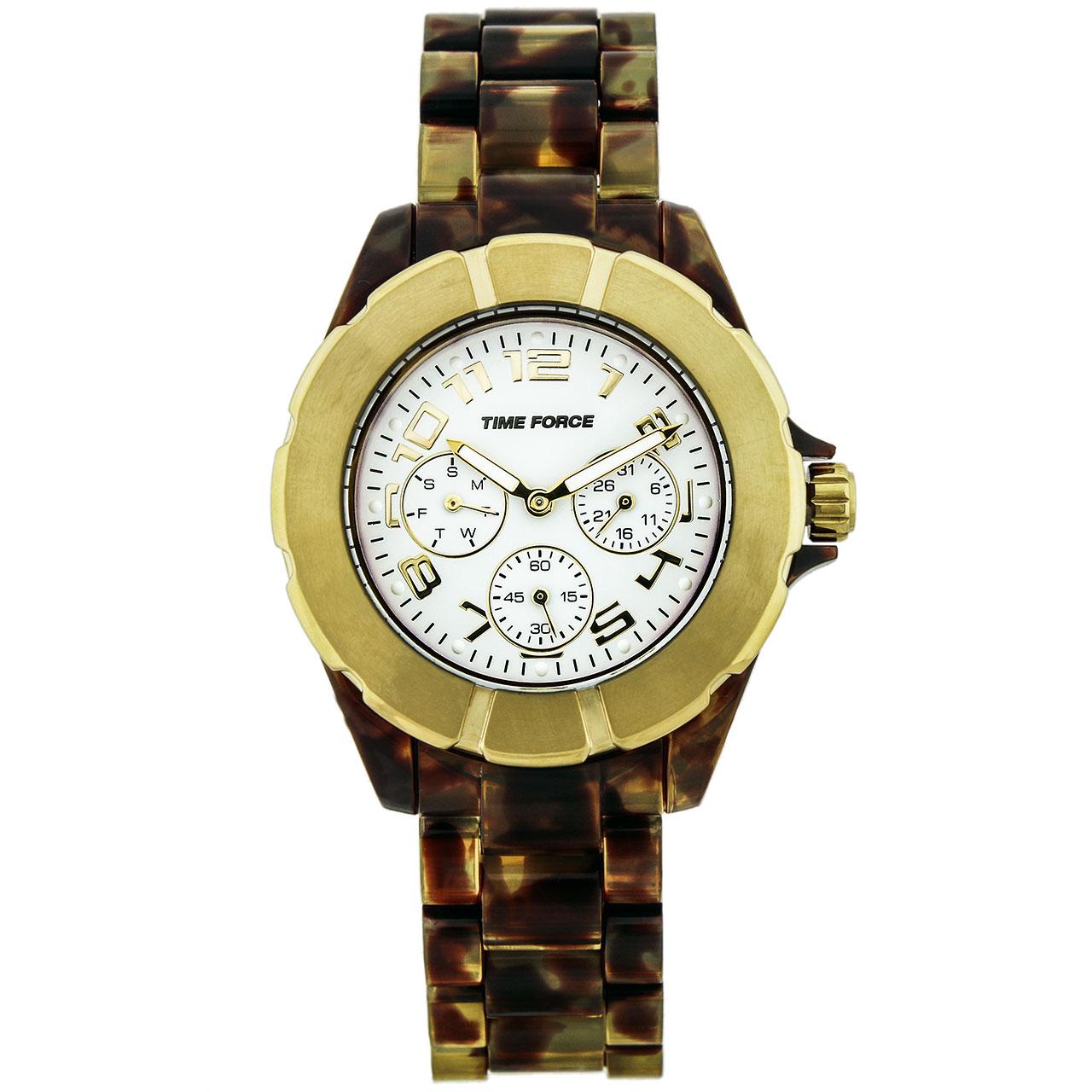 ساعت مچی عقربه ای مردانه تایم فورس مدل TF4175L14