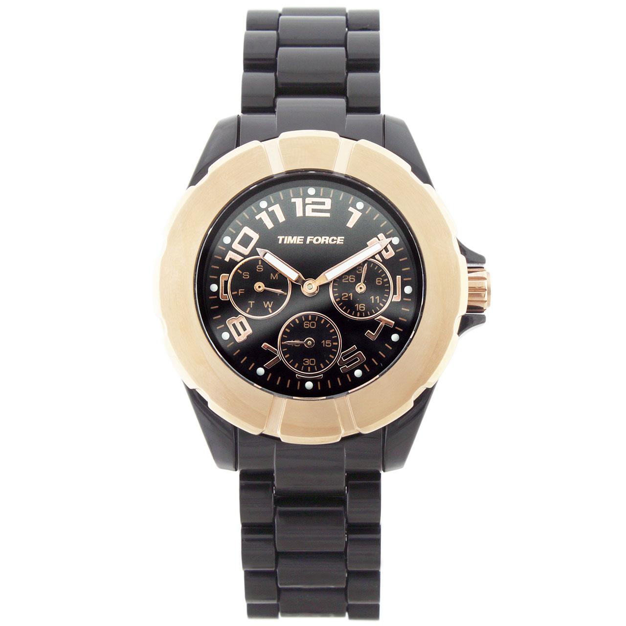 ساعت مچی عقربه ای مردانه تایم فورس مدل TF4175L16