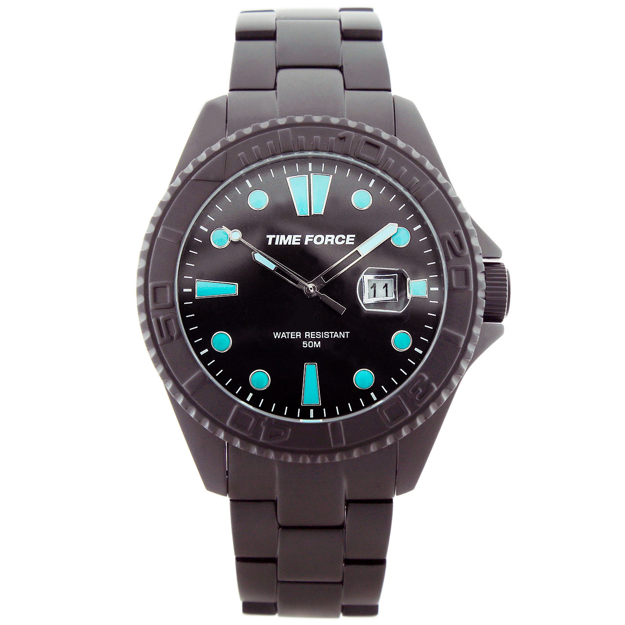 ساعت مچی عقربه ای مردانه تایم فورس مدل TF4190M13M