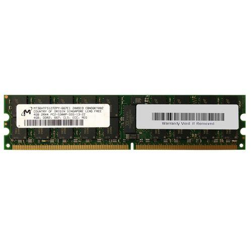 رم سرور DDR2 تک کاناله 667 مگاهرتز CL5 میکرون مدل MT36HTF51272PY-667E1 ظرفیت 4 گیگابایت