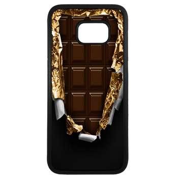 کاور طرح شکلات کد 11054094028 مناسب برای گوشی موبایل سامسونگ galaxy s7 edge