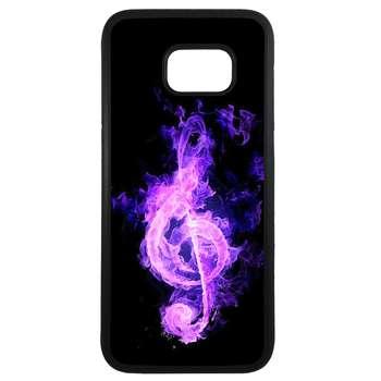 کاور طرح موسیقی کد 11054094041 مناسب برای گوشی موبایل سامسونگ galaxy s7 edge