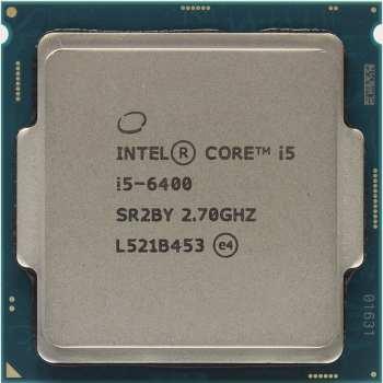 پردازنده مرکزی اینتل سری Skylake مدل Core i5-6400 Tray