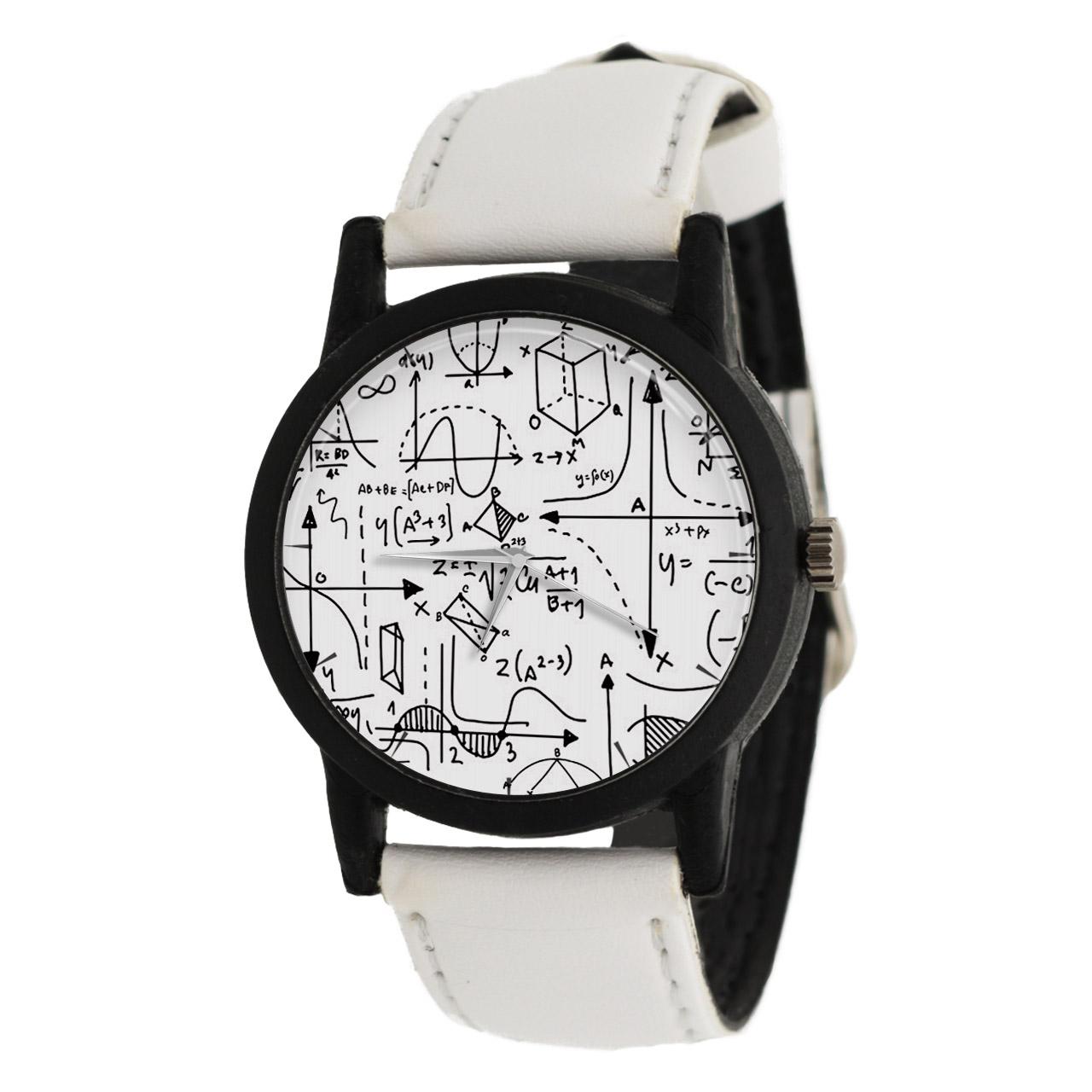 کد تخفیف                                      ساعت مچی عقربه ای طرح ریاضی مدل LF1402
