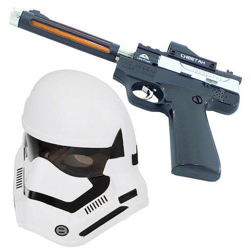تفنگ بازی دنیای سرگرمی های کمیاب طرح Clone Trooper مدل DSK855 مجموعه دو عددی