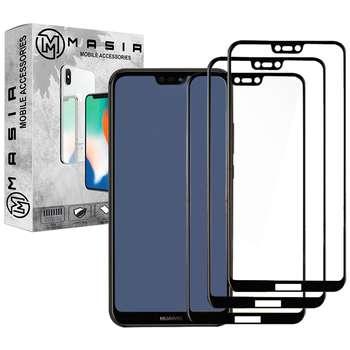 محافظ صفحه نمایش مسیر مدل MGF-3 مناسب برای گوشی موبایل هوآوی Nova 3e/P20 Lite  بسته سه عددی