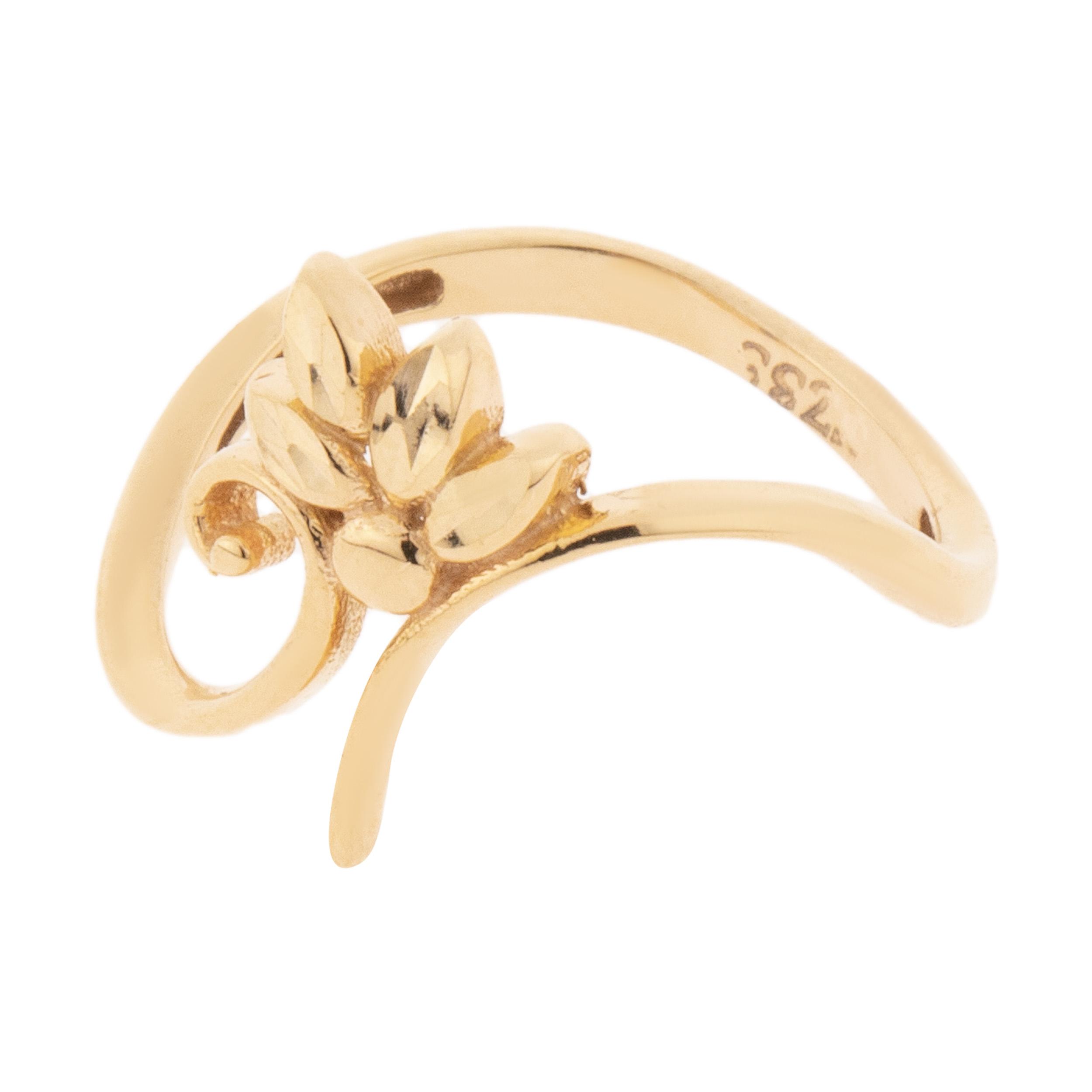 قیمت انگشتر طلا 18 عیار زنانه مدل TA207