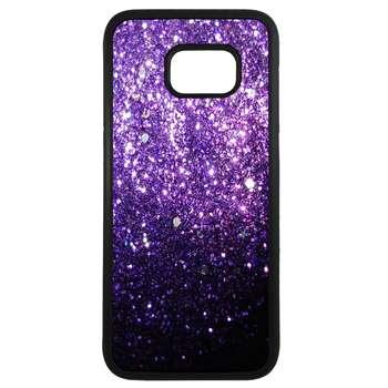 کاور طرح جرقه های بنفش کد 11054094065 مناسب برای گوشی موبایل سامسونگ galaxy s6 edge plus