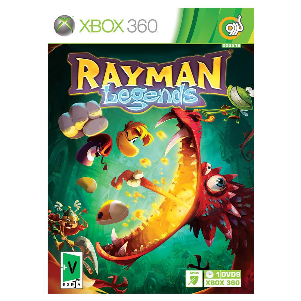 بررسی و {خرید با تخفیف}                                     بازی Rayman Legends مخصوص Xbox 360 نشر گردو                             اصل