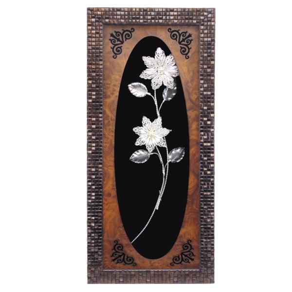 تابلو ملیله کاری طرح گل
