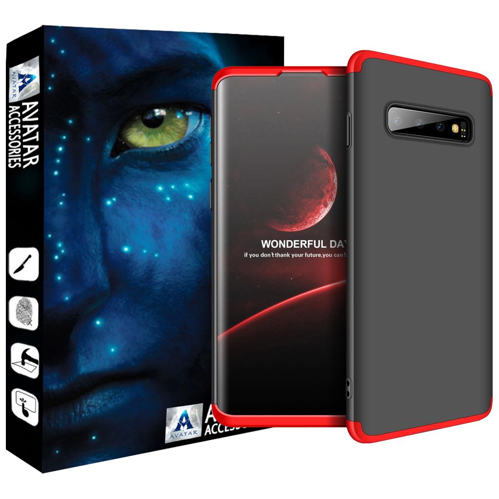 کاور 360 درجه آواتار مدل GK-SS10-2 مناسب برای گوشی موبایل سامسونگ Galaxy S10