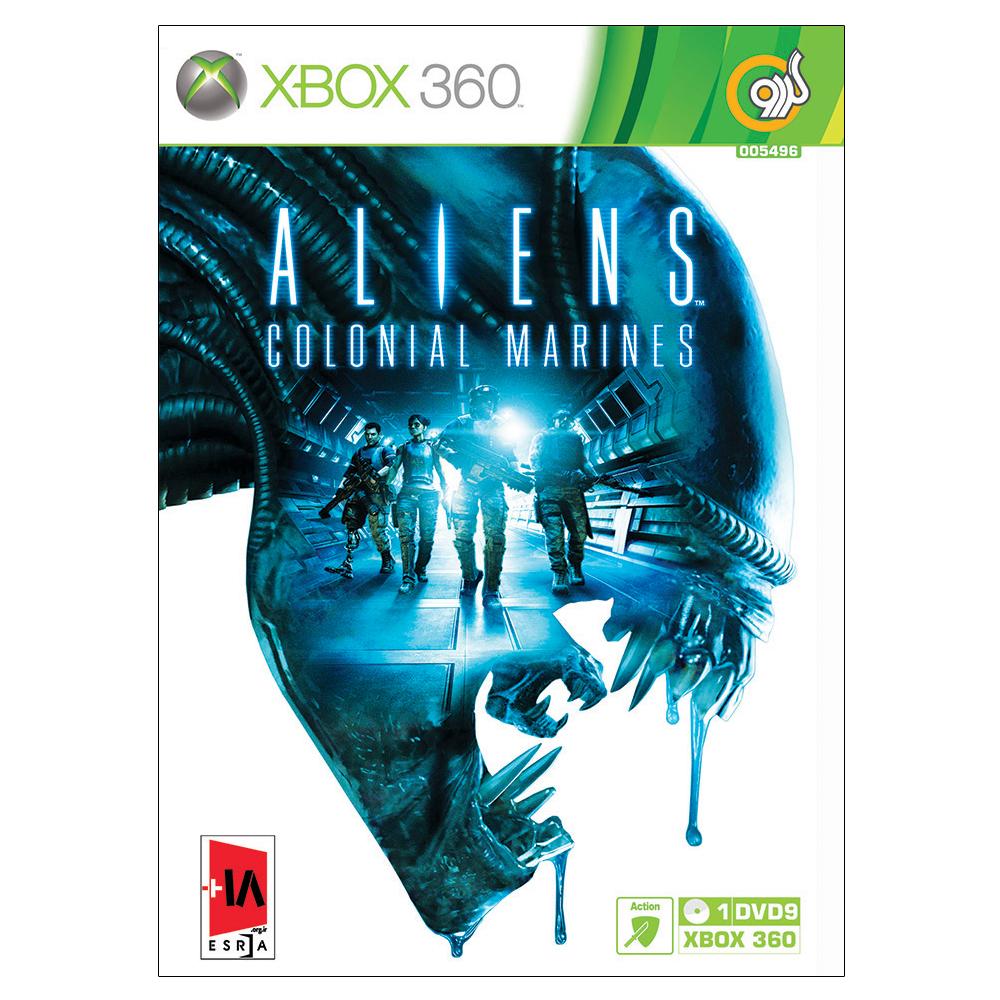 بررسی و {خرید با تخفیف} بازی Aliens Colonial Marines مخصوص Xbox 360 نشر گردو اصل
