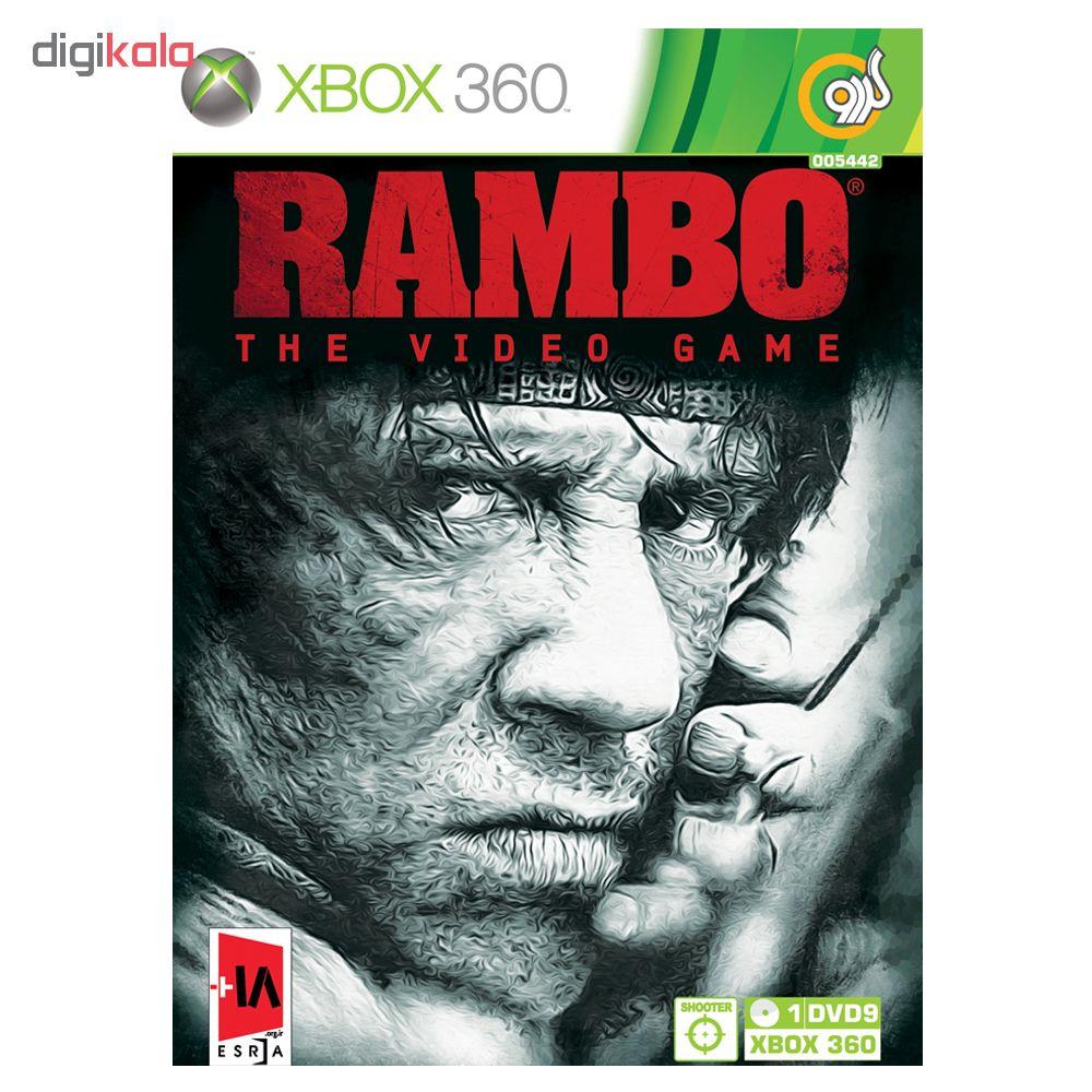 خرید اینترنتی بازی Rambo مخصوص Xbox 360 نشر گردو اورجینال