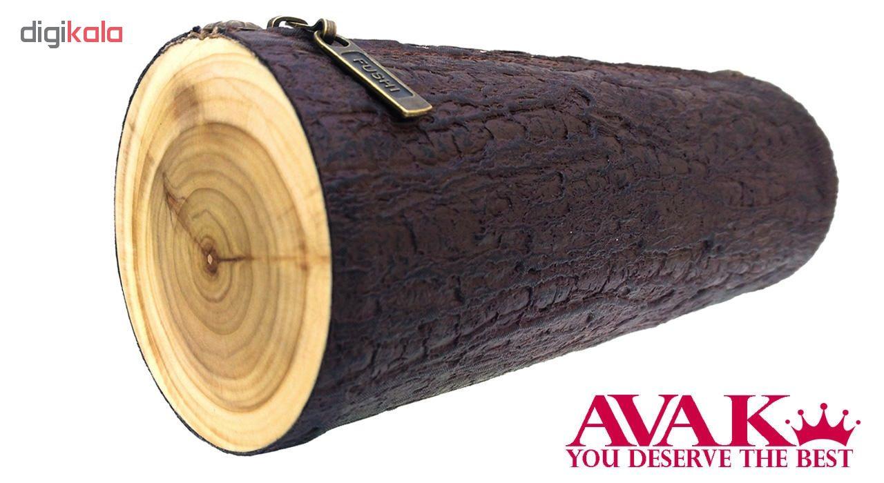 جامدادی آواک طرح کنده درخت کد 0076