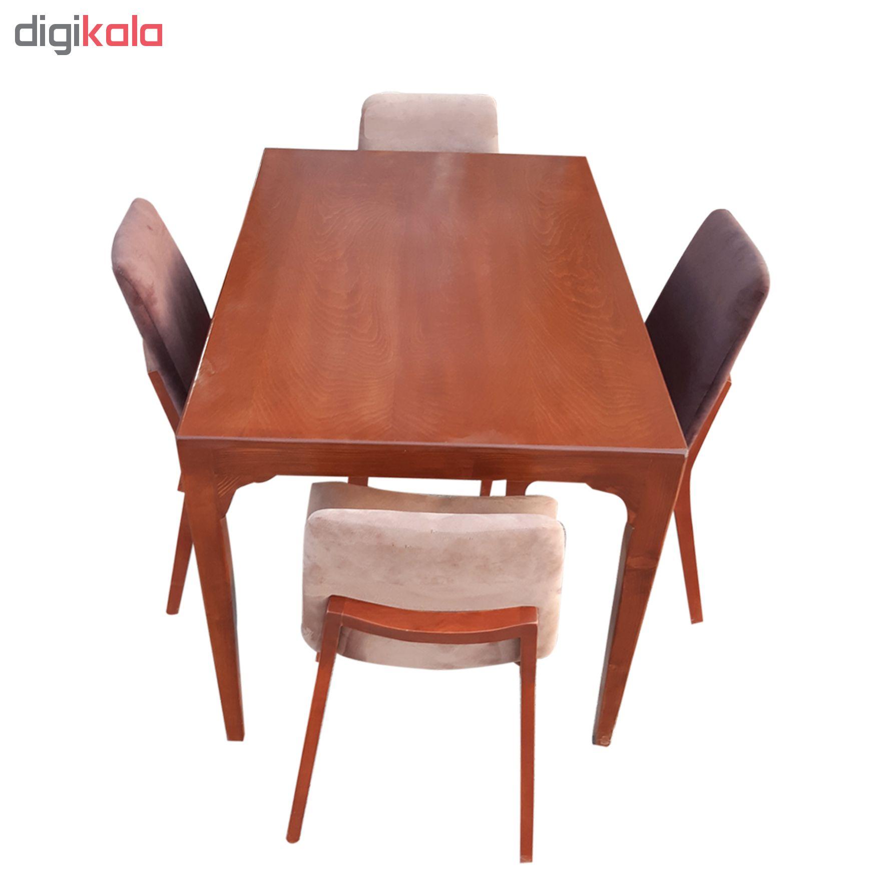میز و صندلی ناهار خوری مدل ms101