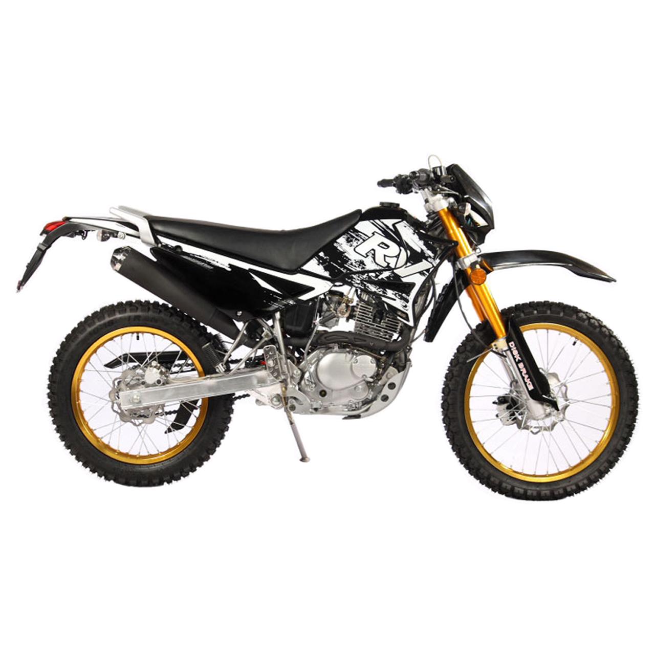 موتورسیکلت تریل روان مدل QM200 سال ۱۳۹۸