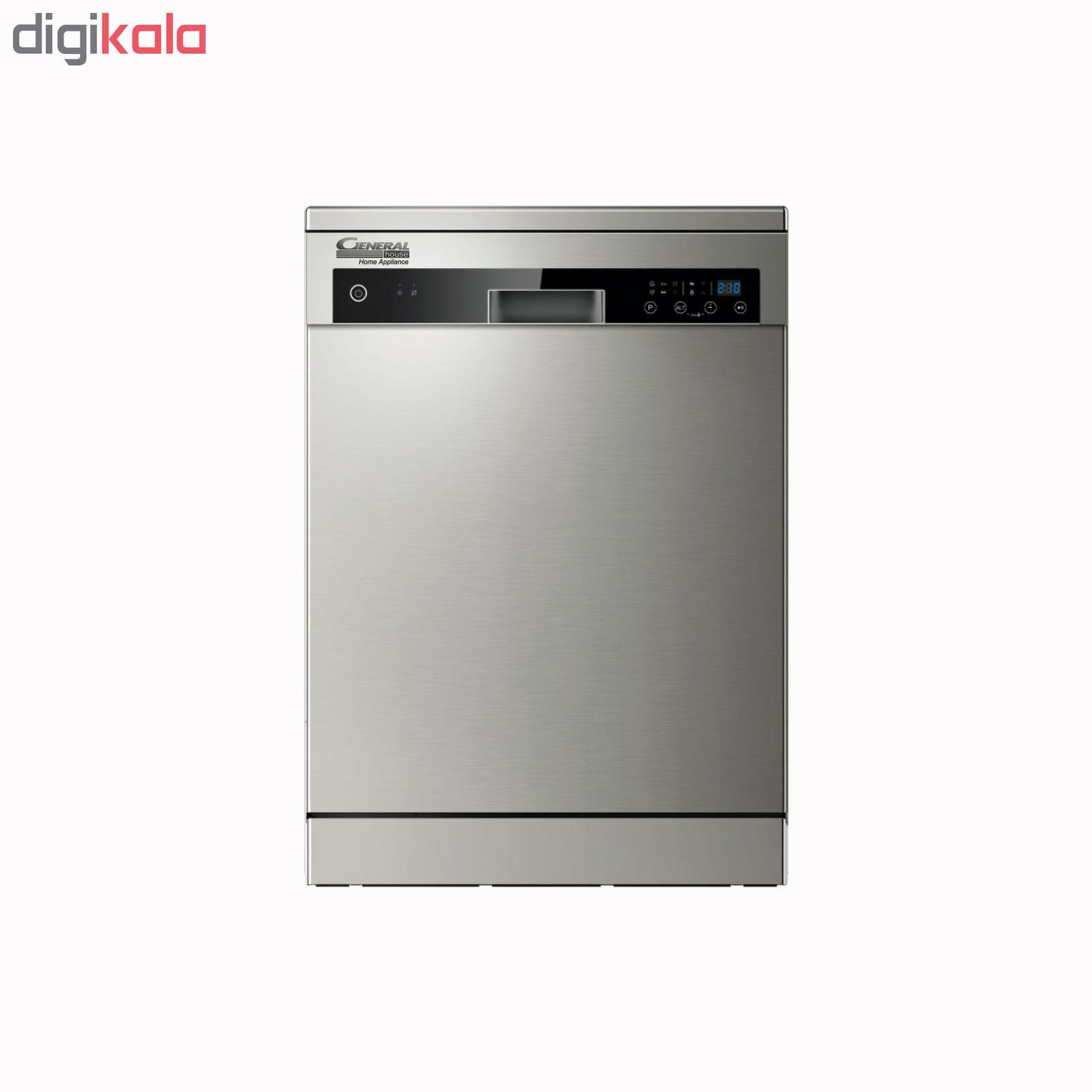 ماشین ظرفشویی جنرال هاوس کد W60