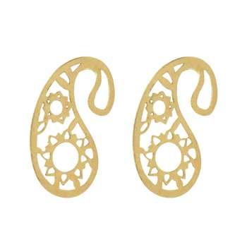 گوشواره طلا 18 عیار زنانه آرشا گالری کد A2428