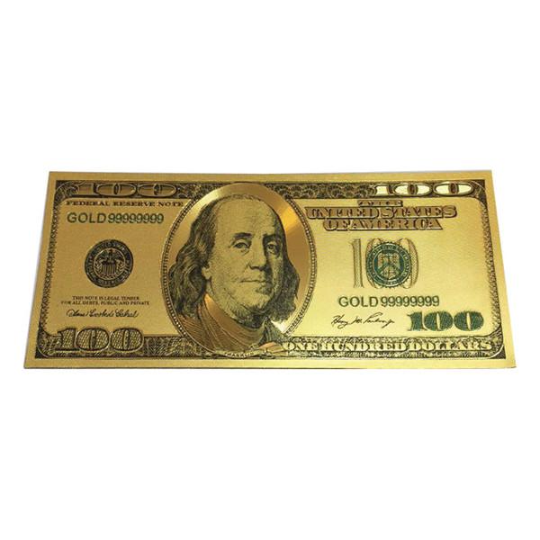اسکناس تزیینی طرح دلار