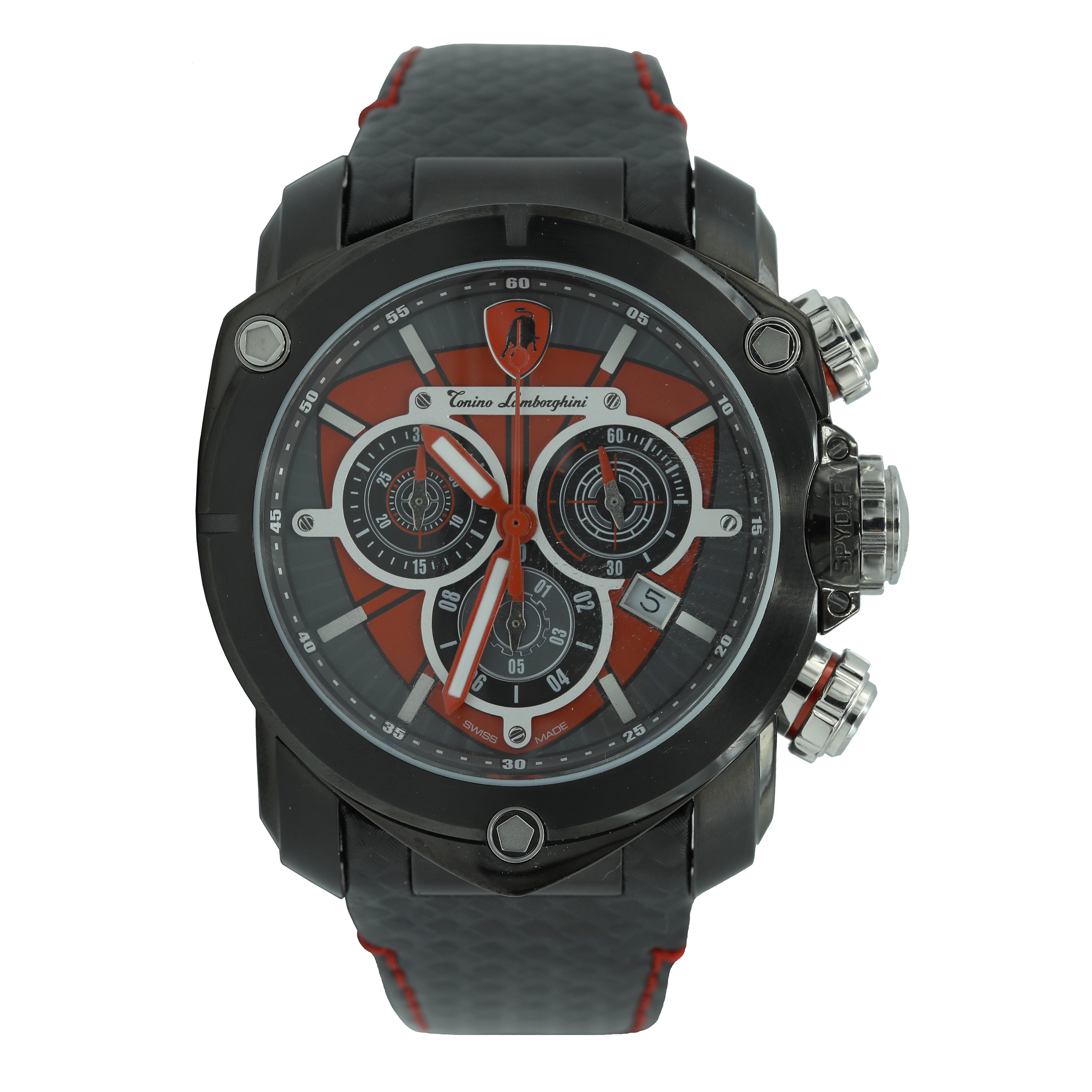 خرید ساعت مچی عقربه ای مردانه تونینو لامبورگینی مدل SPYDER 3202