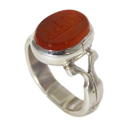 انگشتر نقره مردانه  کد 12290