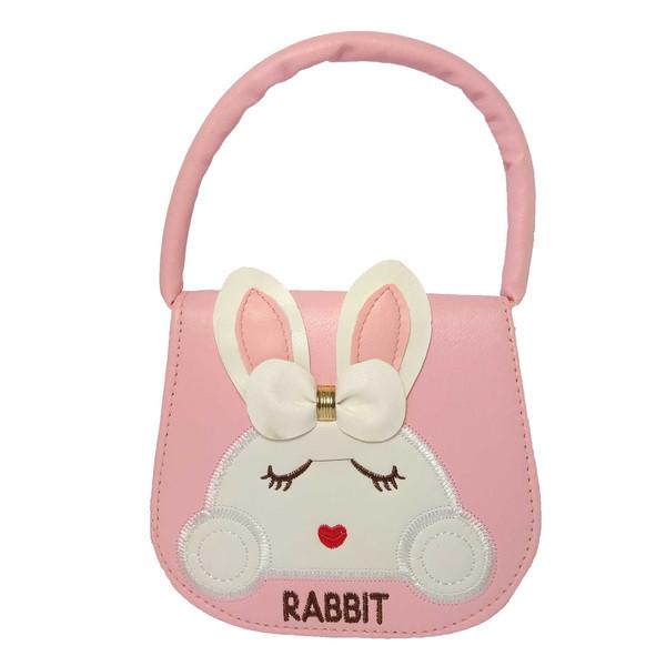 کیف دستی دخترانه طرح rabbit کد 0020