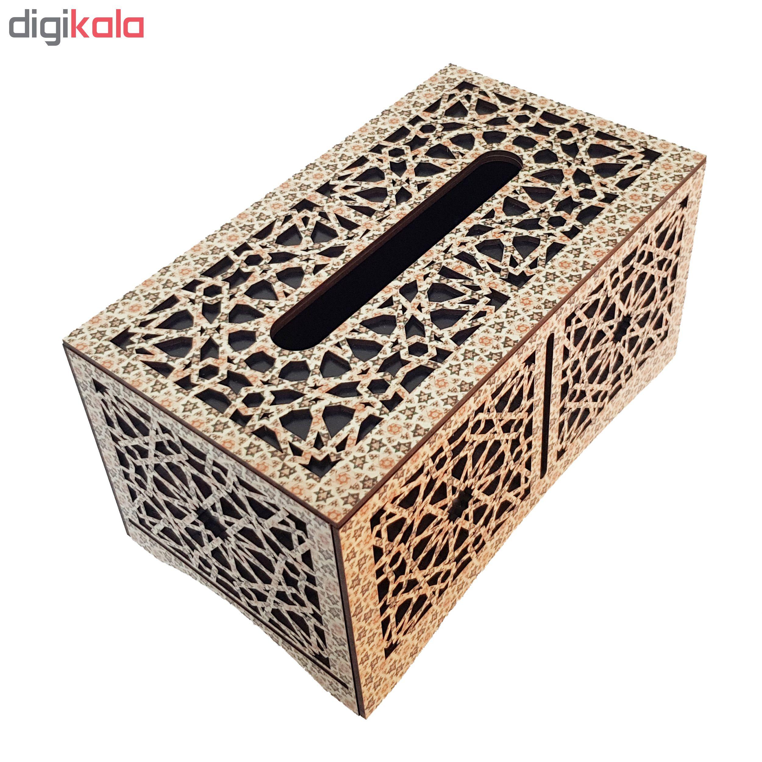 جعبه دستمال کاغذی  مدل  es -mosaic -background