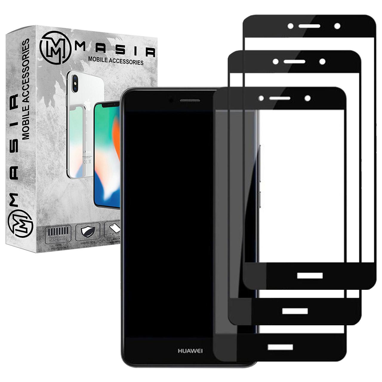 محافظ صفحه نمایش مسیر مدل MGF-3 مناسب برای گوشی موبایل هوآوی Y7 Prime 2017  بسته سه عددی