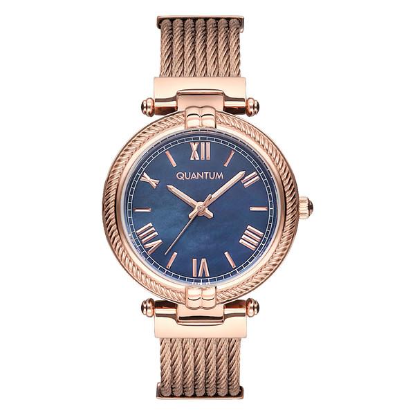 ساعت مچی عقربه ای زنانه کوانتوم کد IML711.490