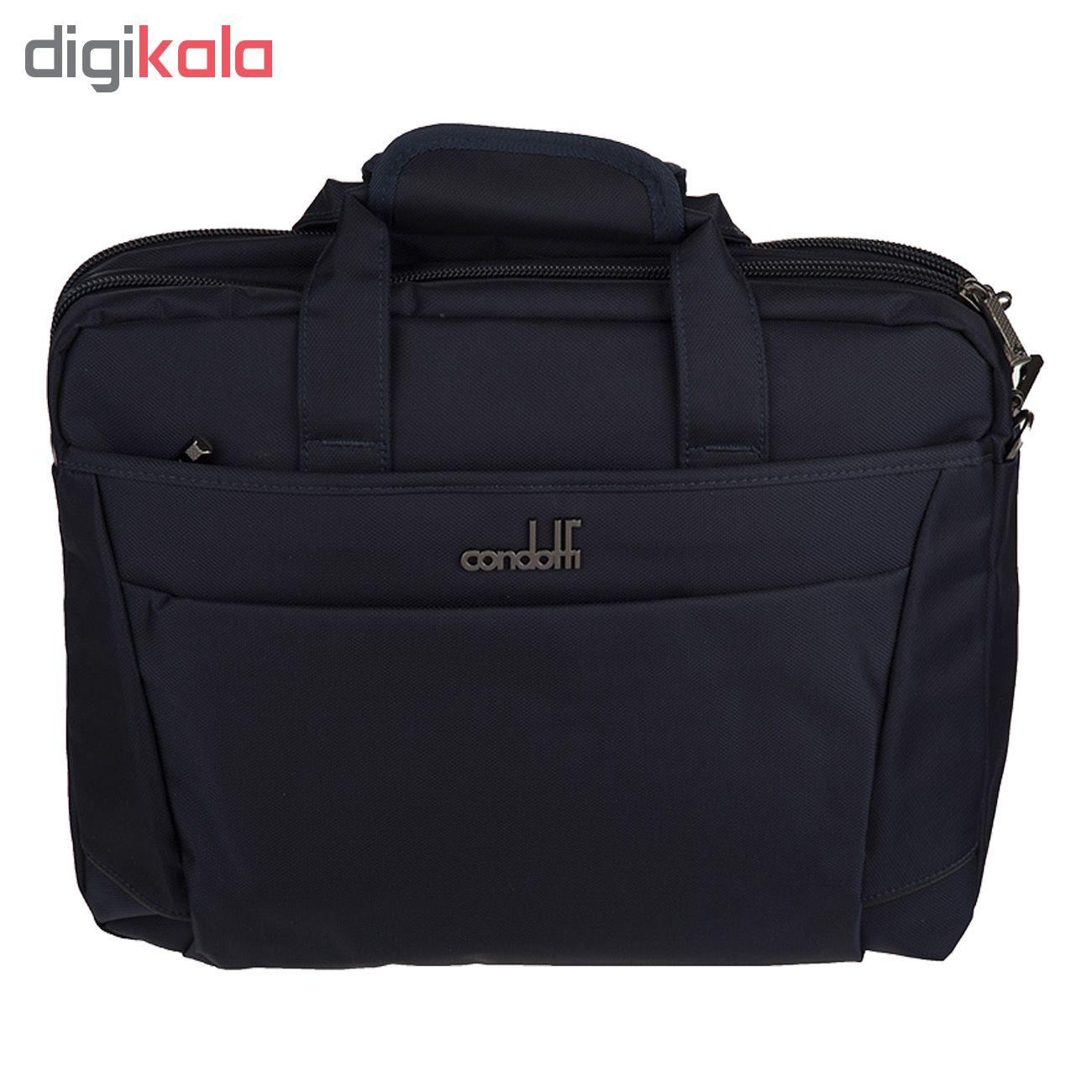 کیف لپ تاپ کندوتی مدل S-310-2 مناسب برای لپ تاپ 15.6 اینچی