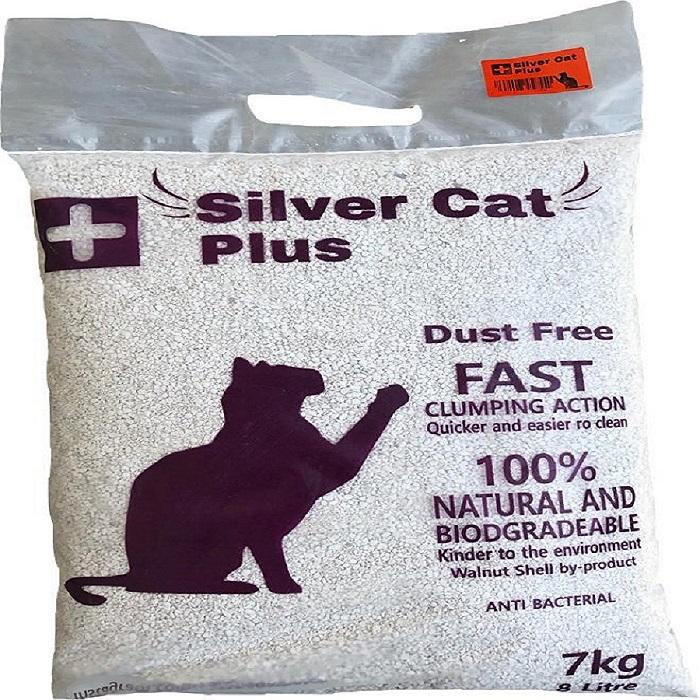 خاک گربه سیلور کت پلاس کد 8550 وزن 7 کیلوگرمی