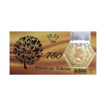 پلاک طلا 18 عیار پارسیان گوی گالری کد P800