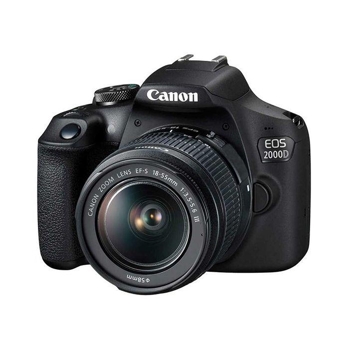 دوربین دیجیتال کانن مدل EOS 2000D به همراه لنز 18-55 میلی متر DC III