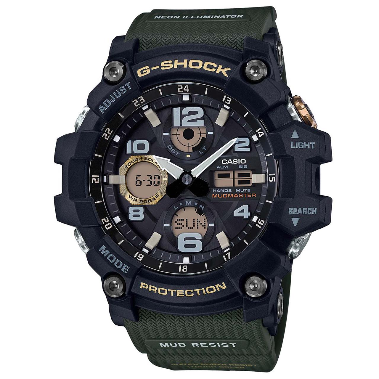 ساعت  کاسیو جی شاک مدل GSG-100-1A3DR