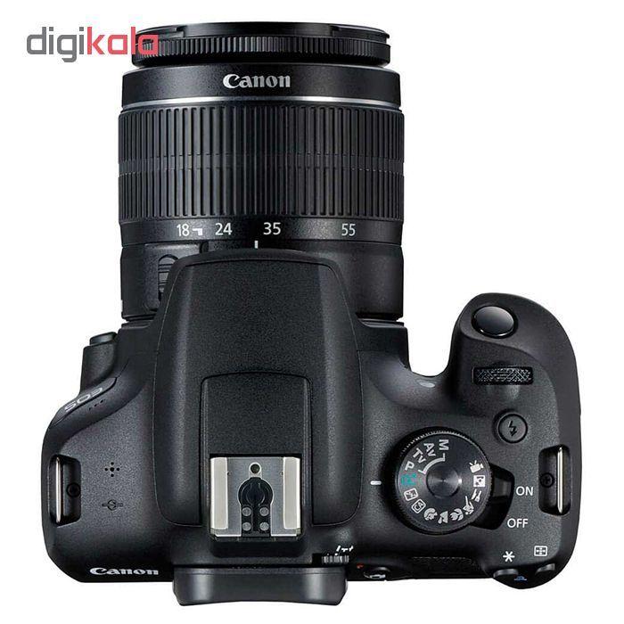 دوربین دیجیتال کانن مدل EOS 2000D به همراه لنز 18-55 میلی متر DC III main 1 3