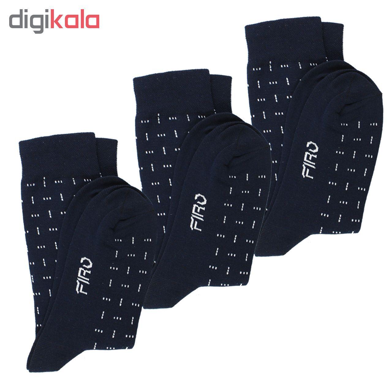 جوراب مردانه فیرو مدل FT243 بسته 3 عددی main 1 1