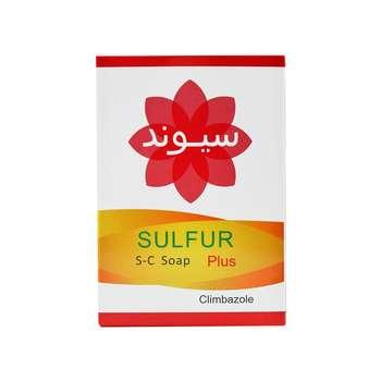 صابون ضد باکتری سیوند سری sulfur مدل climbazole وزن ۹۰ گرم