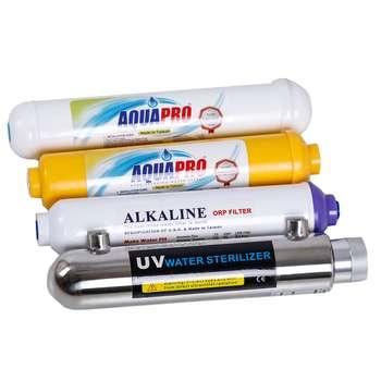 فیلتر دستگاه تصفیه کننده آب خانگی مدل UV-ORP-4 مجموعه 4 عددی
