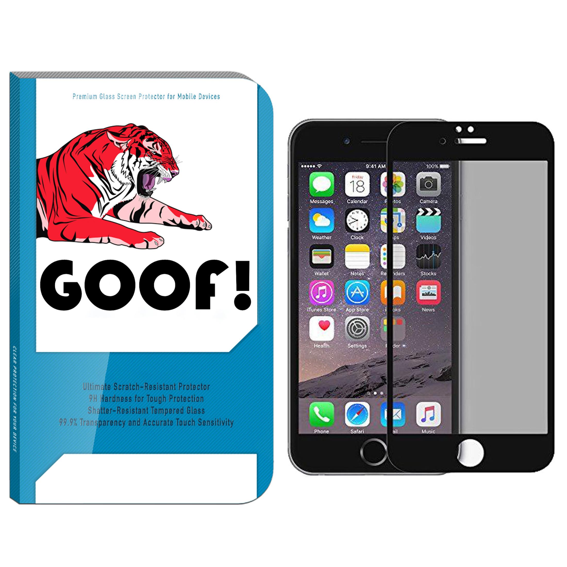 محافظ صفحه نمایش حریم شخصی گوف مدل TI-001 مناسب برای گوشی موبایل اپل Iphone 7