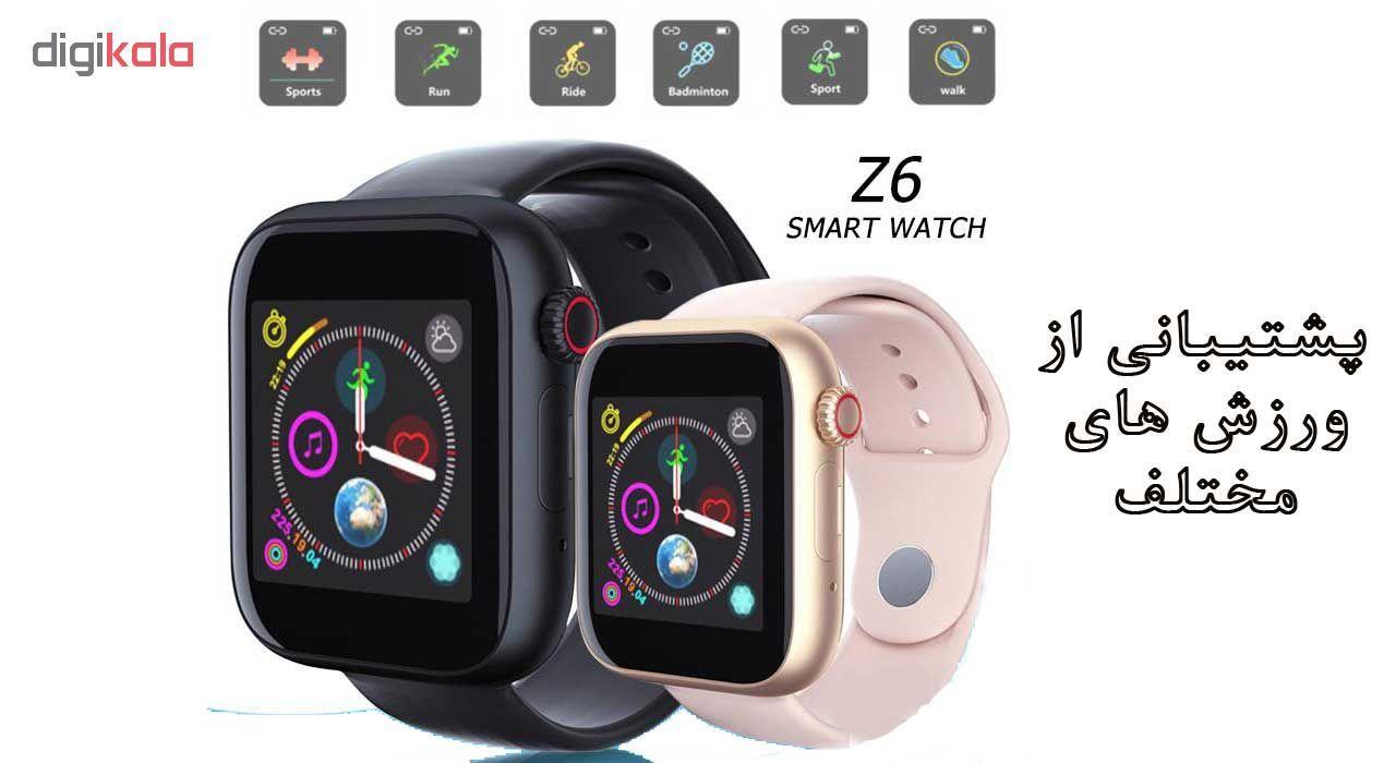 ساعت هوشمند مدل Z6 main 1 8