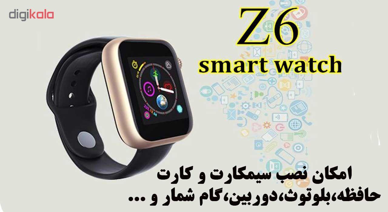 ساعت هوشمند مدل Z6 main 1 7