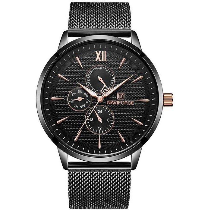 قیمت و خرید                      ساعت مچی عقربه ای مردانه نیوی فورس مدل NF3003M - ME