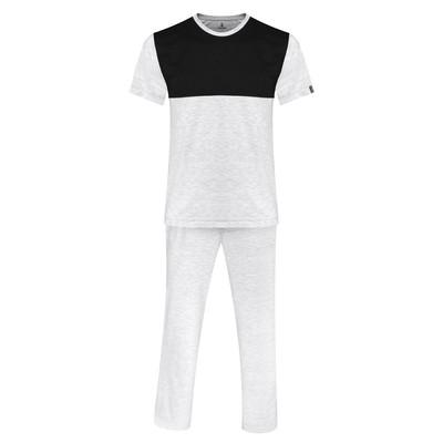 تصویر ست تی شرت و شلوار مردانه ساروک مدل TkDzi کد 04