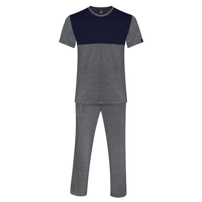 تصویر ست تی شرت و شلوار مردانه ساروک مدل TkDzi کد 05